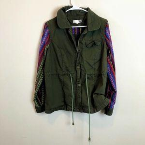 Aniina Bohemian Tribal Utility Parka Jacket Coat